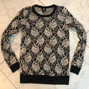 Womens Bobeau Long Sleeve Shirt